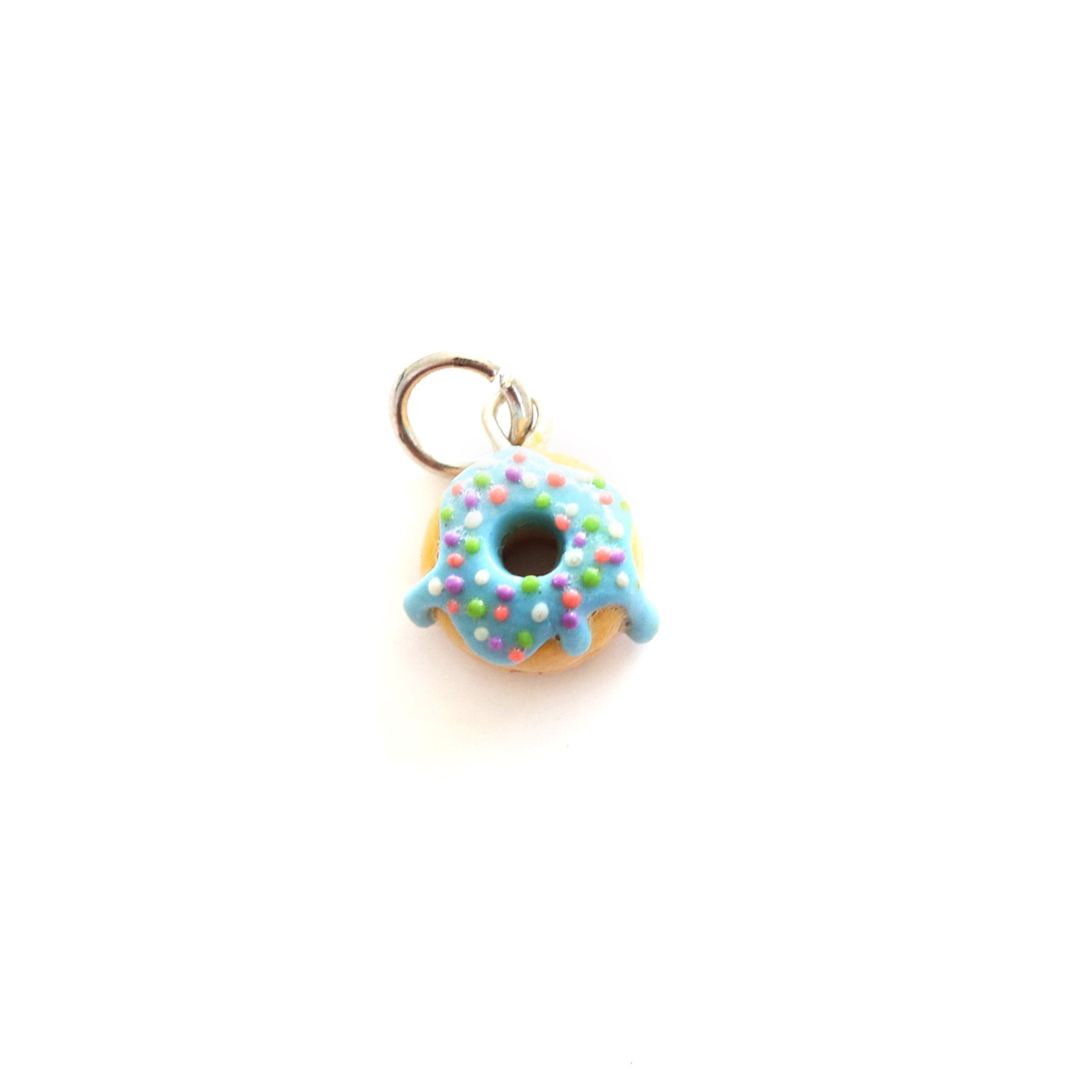 Doughnut Charm/ Necklace (different colour options)