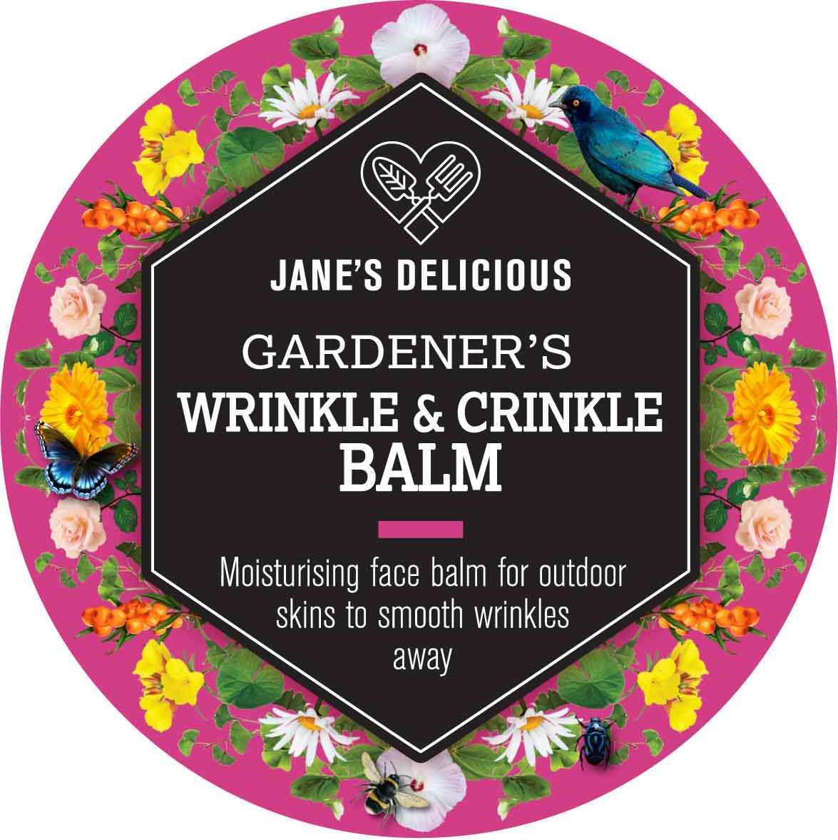 A deeply moisturising face balm for outdoor skin to smooth wrinkles away.