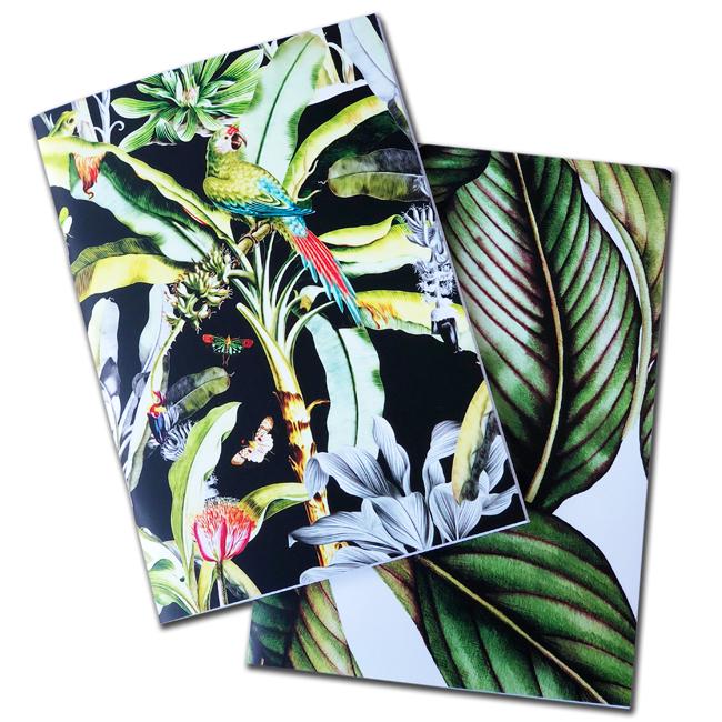 Canopy notebooks - set of 2