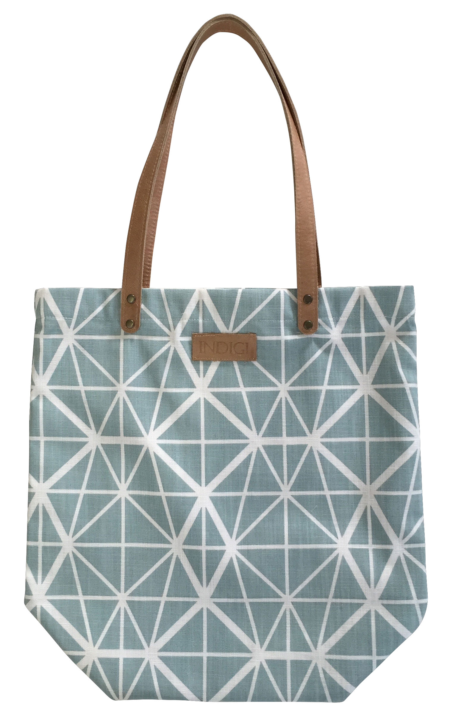 Tote Bag Facet (Duck Egg)
