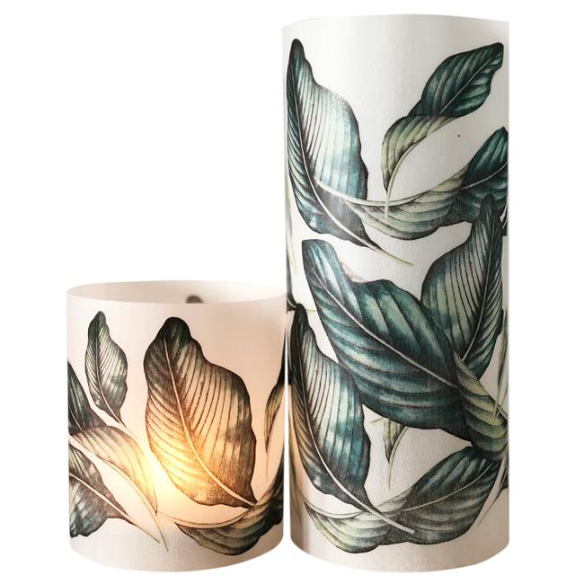 Paper lanterns ~ Set of 2 ~ Tropical