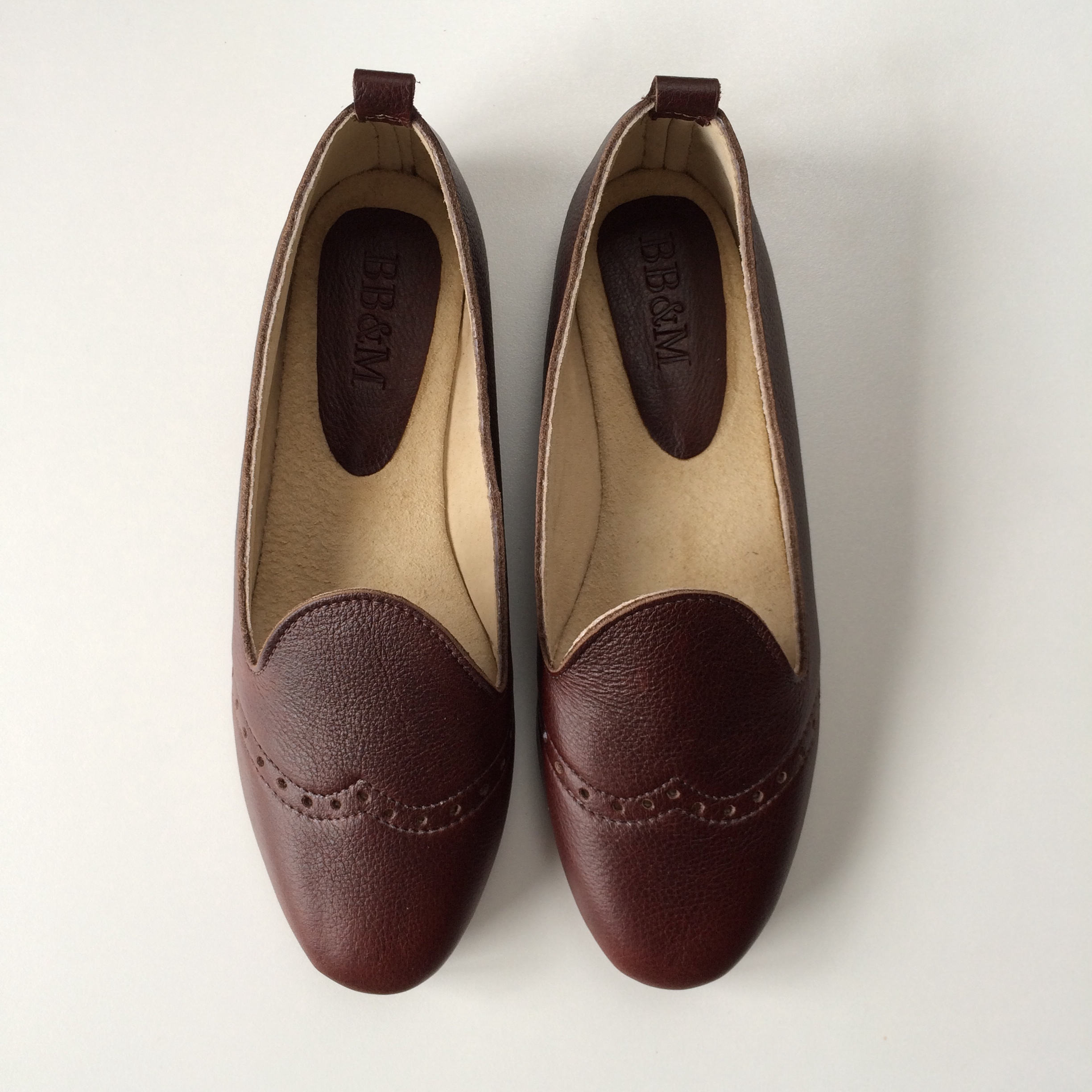 Ladies Morocco Choc Loafer - LF3