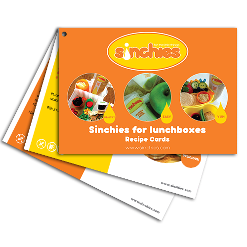 E-Book: Sinchies Lunchbox Recipe Cards