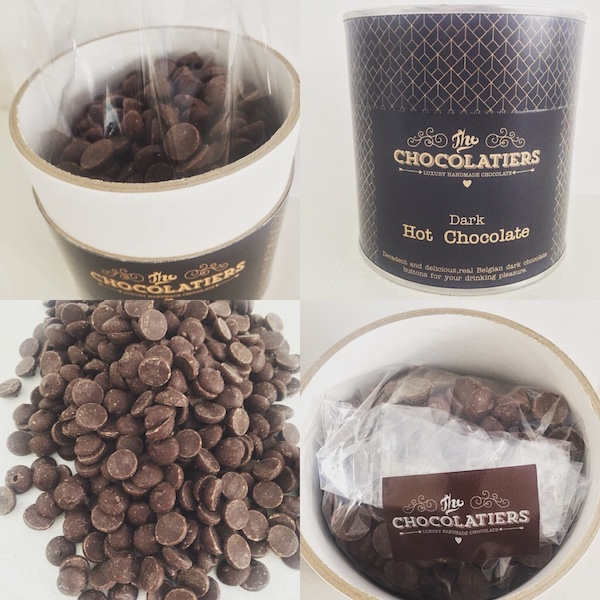 Decadent and delicious, real Belgian dark chocolate buttons for your drinking pleasure.