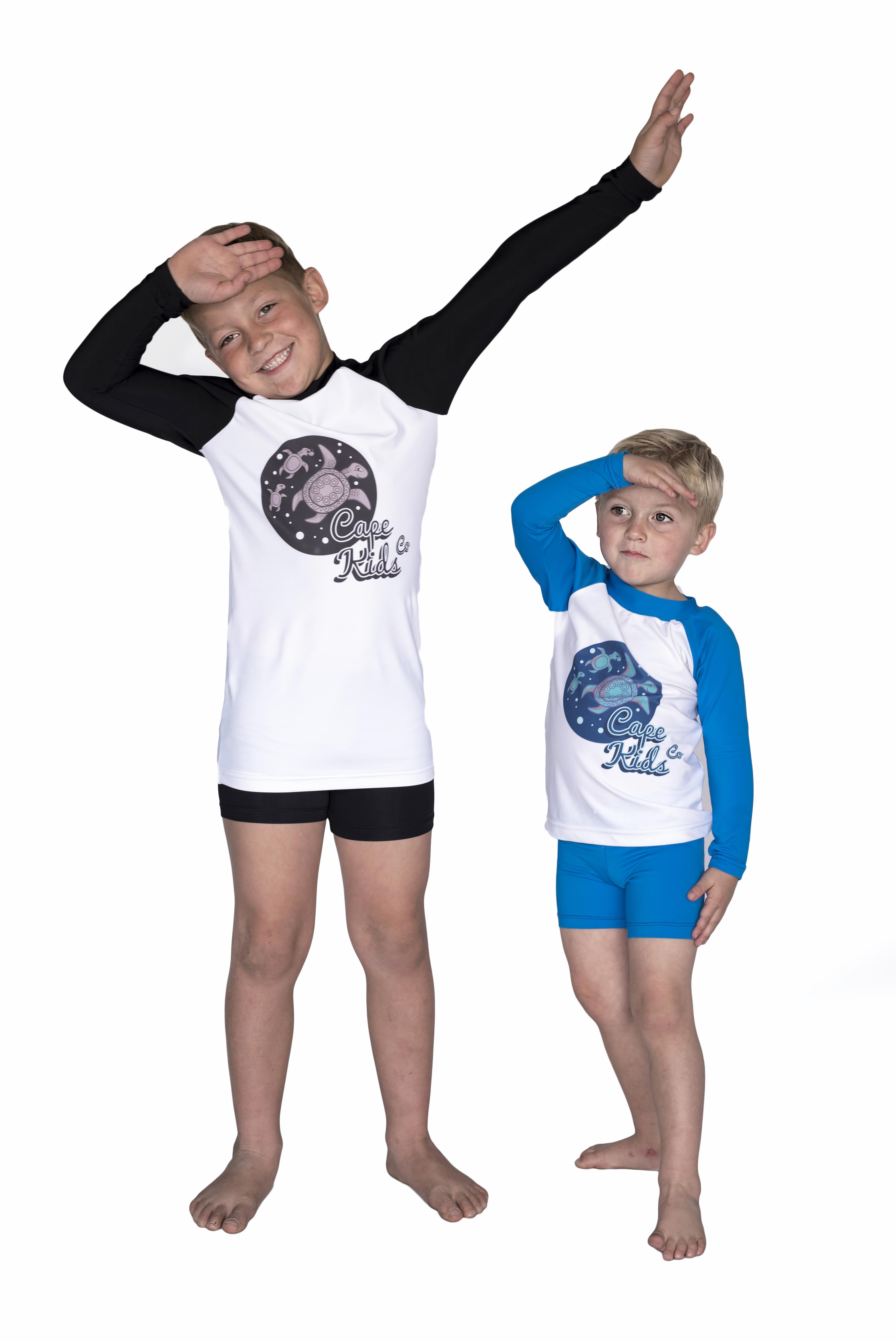 Long Sleeve Rash Vest Combo - Cape Kids Style