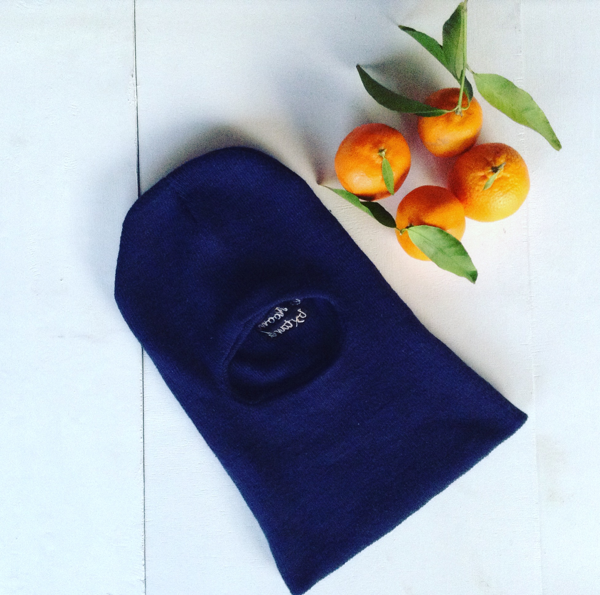 Keep your face warm and protected during the chilly Winter months with the Thei wool Balaclava.