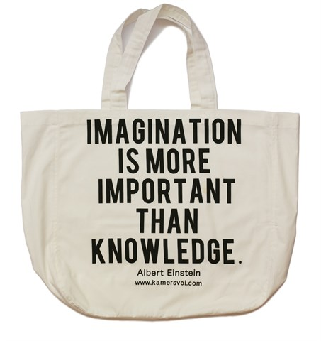 Imagination Inspirational Tote Bag - KAMERS