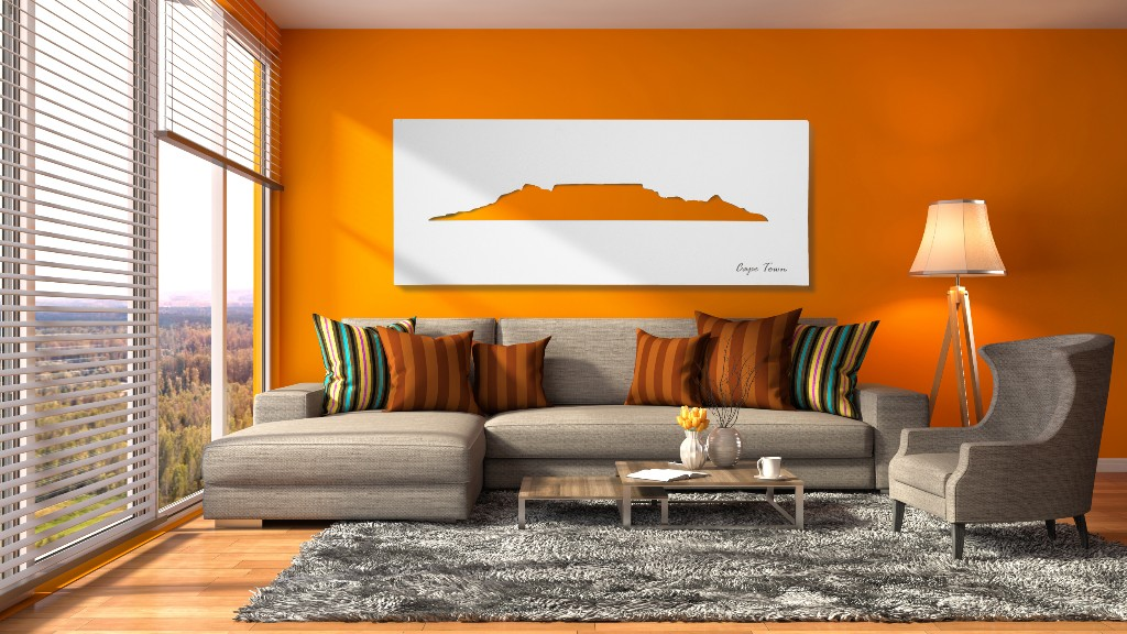 There's only two directions in Cape Town – from the mountain and to the mountain. And much the same, there's only two ways the Cape Town Skyline Wall Art by Native Decor can enhance your living space and that's exponentially and phenomenally. No matter where you are in the world, this piece of art will remind you of the beauty the mother city has to offer.