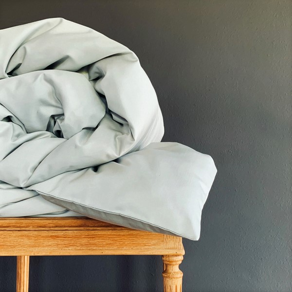 Signature Collection - Plain Duvet Cover - Oyster