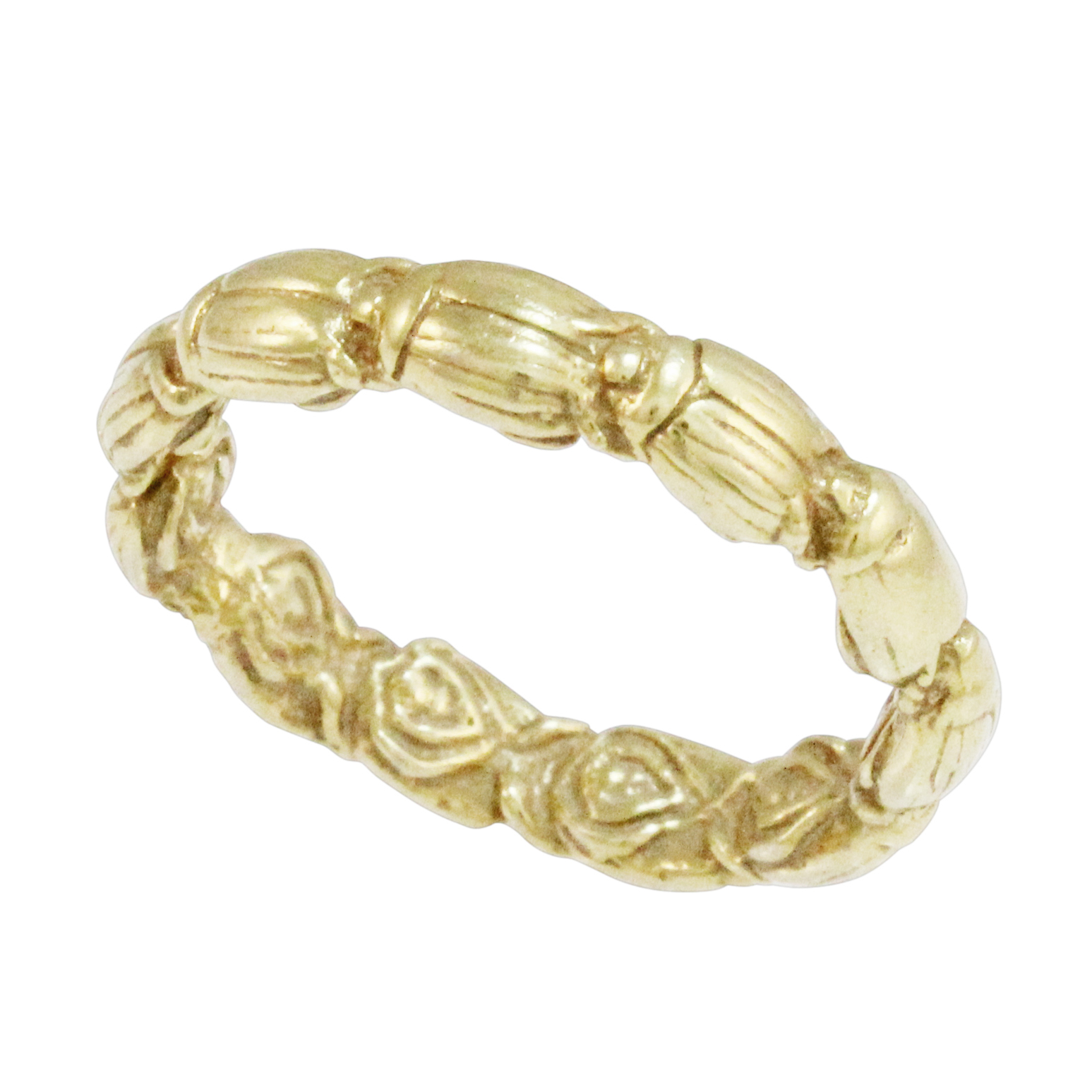 9ct Solid Yellow Gold Ring