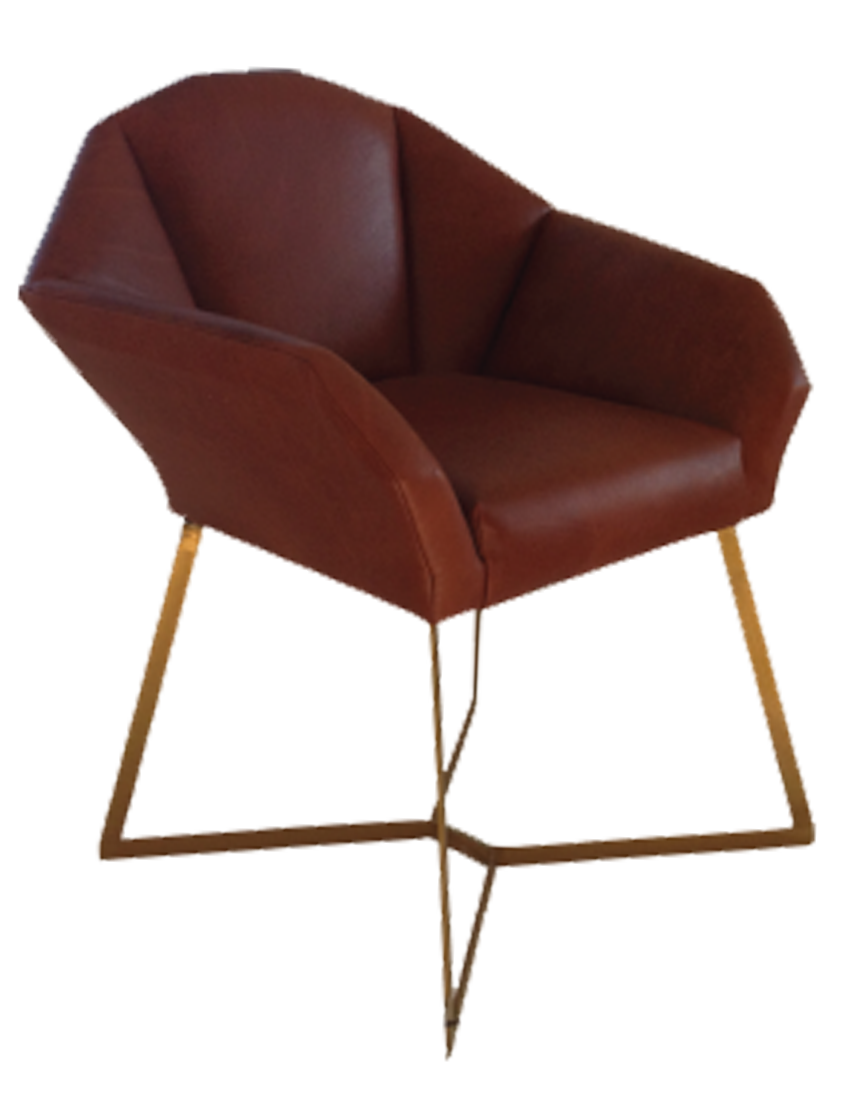 Fracture Armchair - Leather