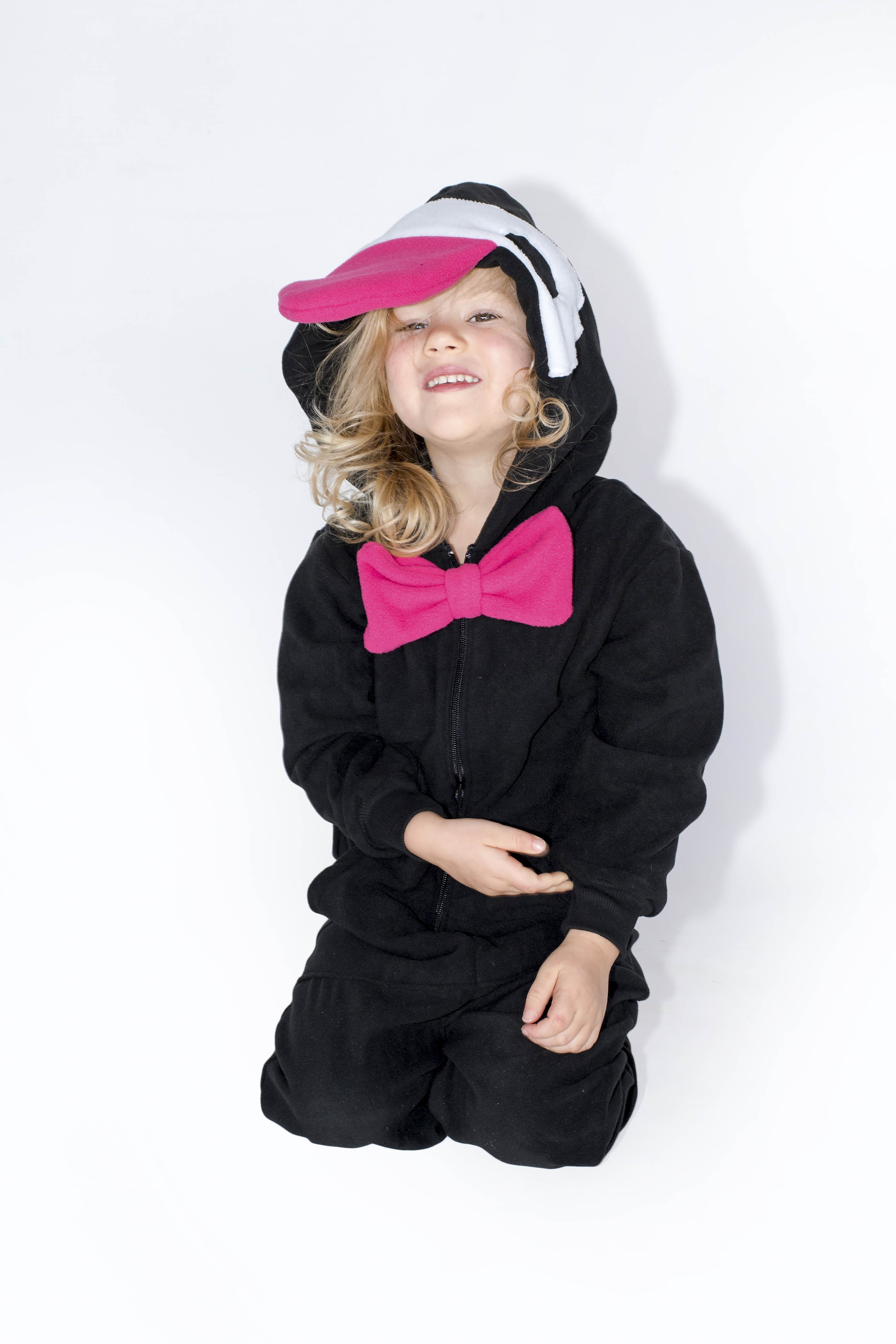 END OF RANGE SALE - LIMITED SIZES AVAILABLE  Super soft and comfy fleece onesie. Keeping the cold out for good. Available in yellow and pink. Sizes are nice and big to last longer. It is recommended that the order is placed with the size of the child's current age.