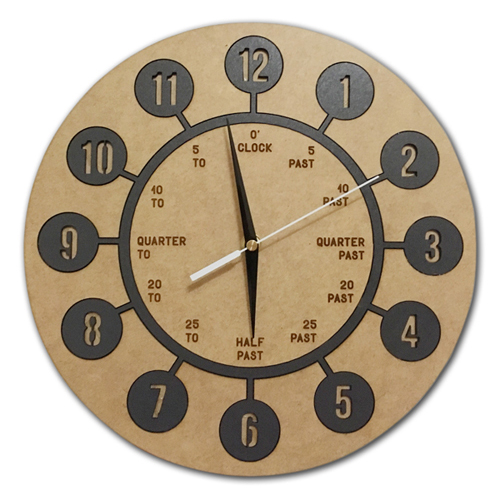 Learn to Tell the Time ~ Wall Clock