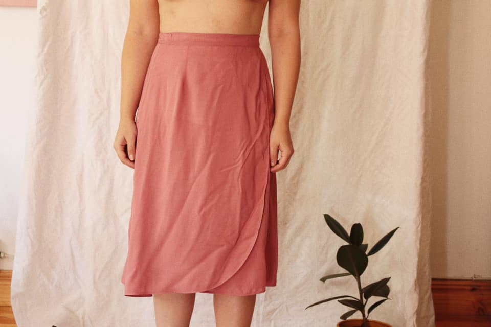 Our Lili Wrap skirt is available in linen or Rayon  Rayon needs to be cold washed, linen can be washed however you do a load.  Handmade from start to finish, we ask for 7-10 working days for your order to be processed  Pick up or shipping options at check out