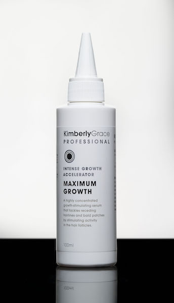 A highly concentrated growth-accelerating serum that is ideal to tackle receding hairlines and bald patches. It's lightweight and leaves no oily residue. Will also help bring the scalp back into optimal condition.