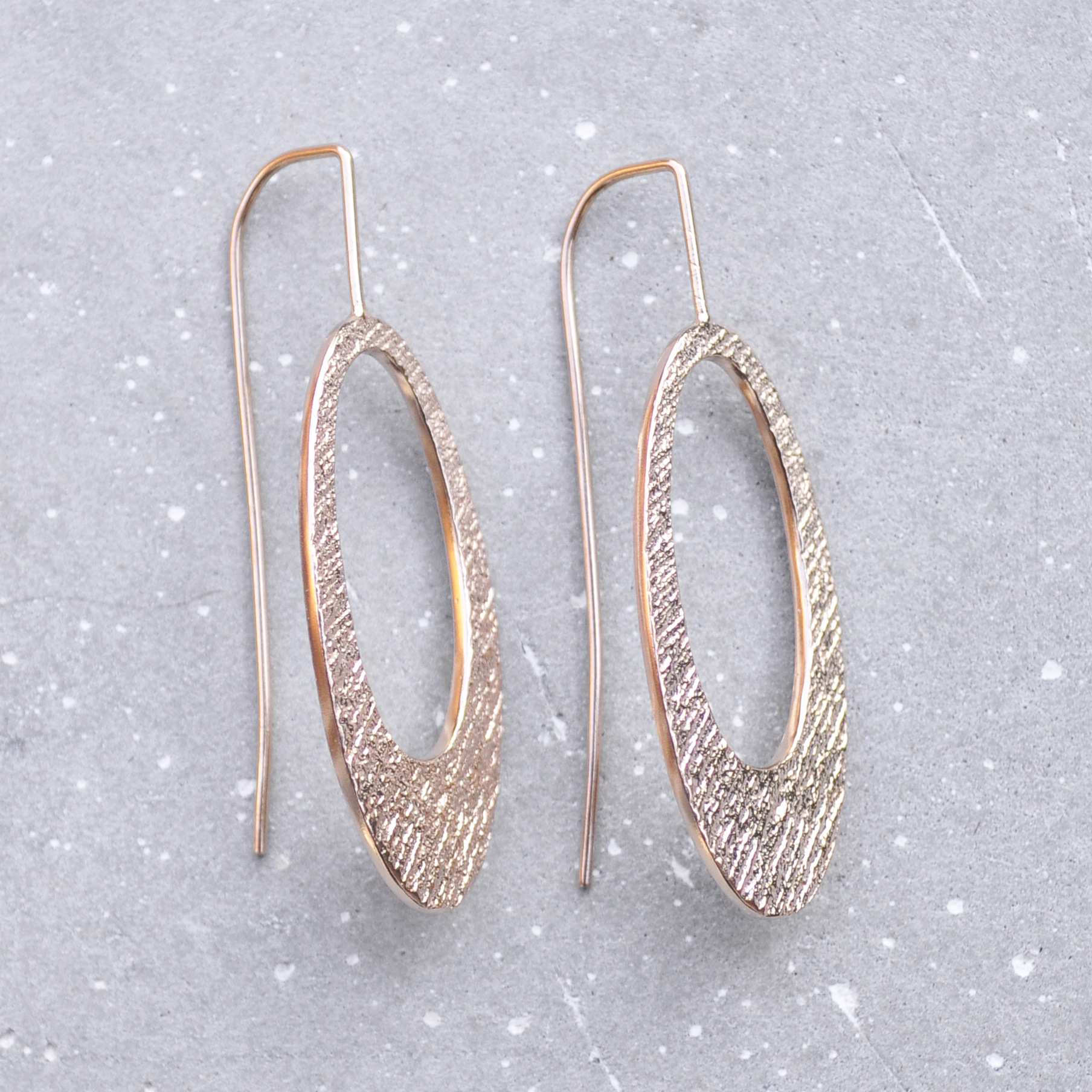 Hollow Oval Rose Gold Jennas