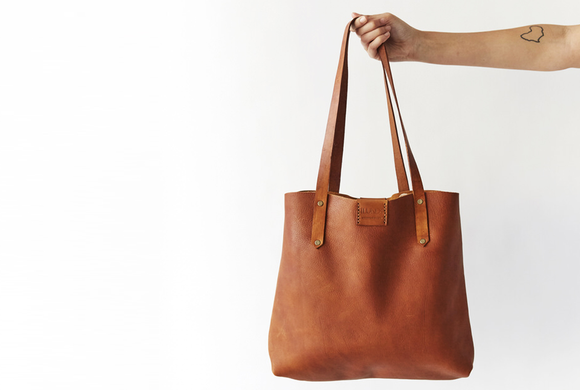 Soft Tote bag - tan
