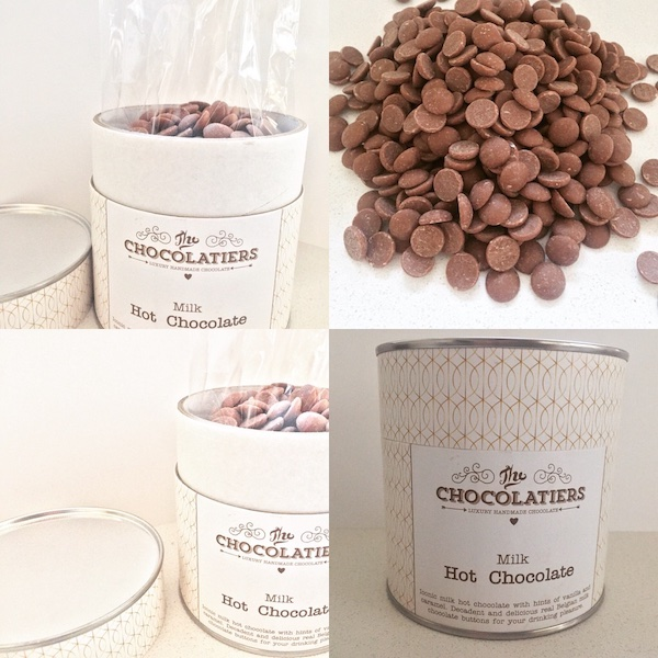 Iconic milk chocolate with hints of vanilla and caramel. Decadent and delicious real Belgin milk chocolate buttons for your drinking pleasure.