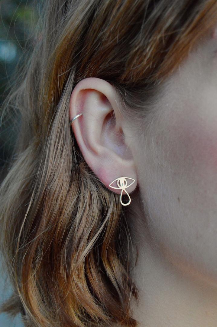 Velvet Eye Earring