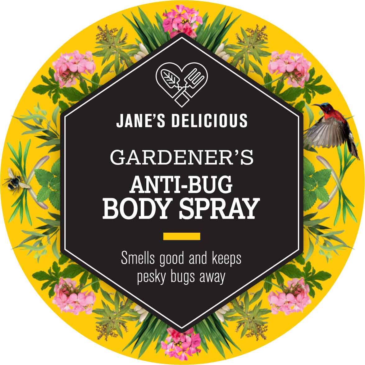 This anti-bug spray smells delicious and keeps mosqitoes and gnats away