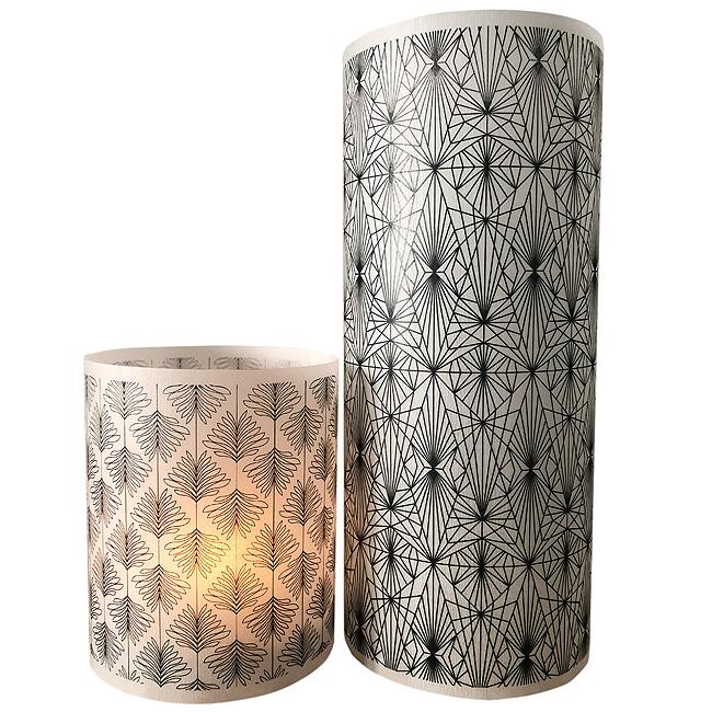 Paper lanterns ~ Set of 2 ~ Deco Botanicals