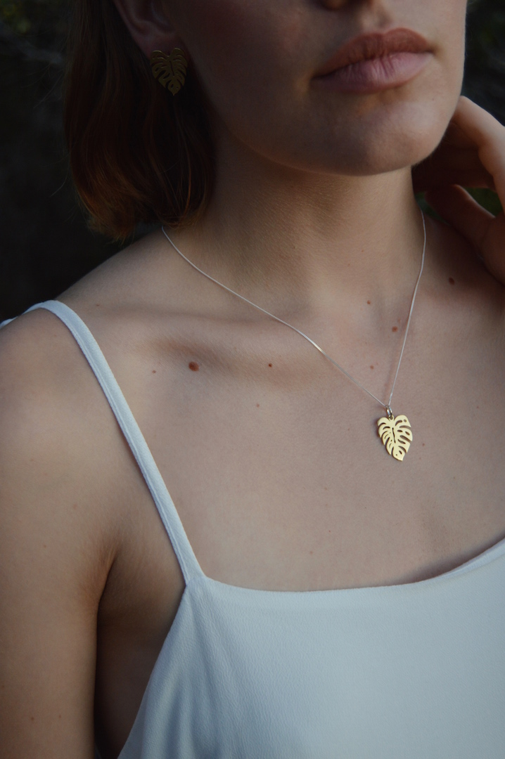 Leaf of the Year Necklace