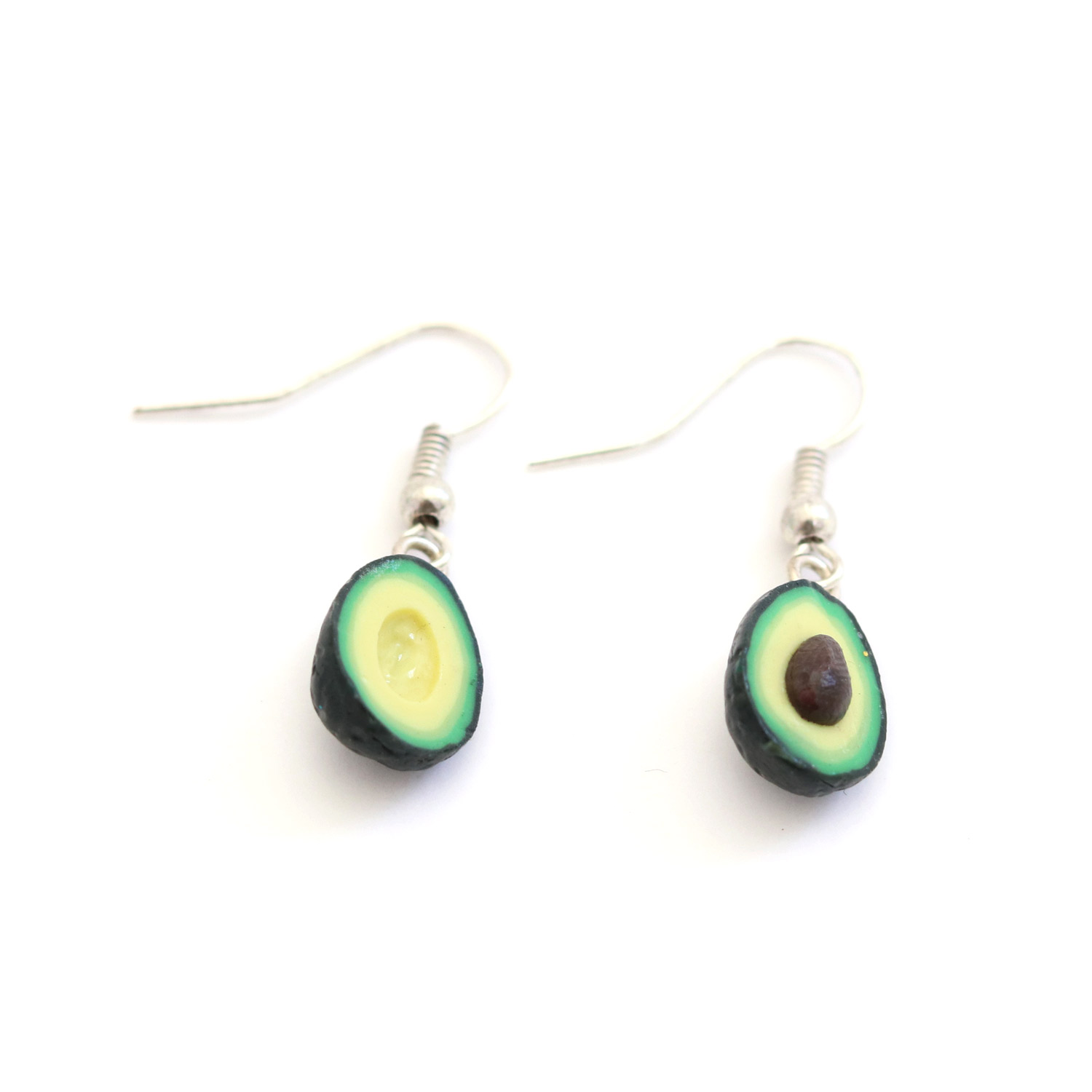 Avocado Dangly earrings