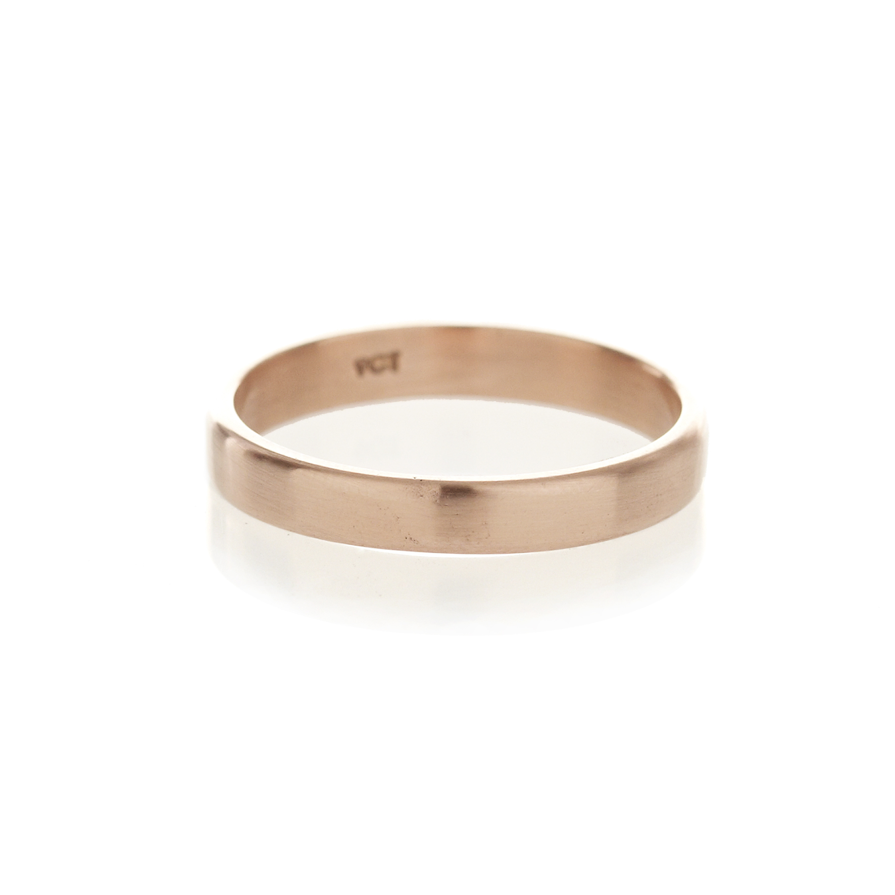 Rose gold men's band