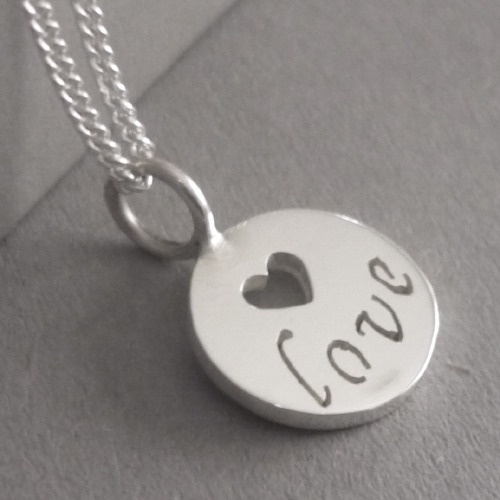 Love Inspirations Pendant on Chain