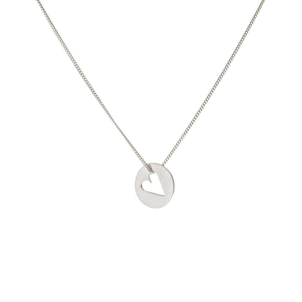 Cutout heart pendant