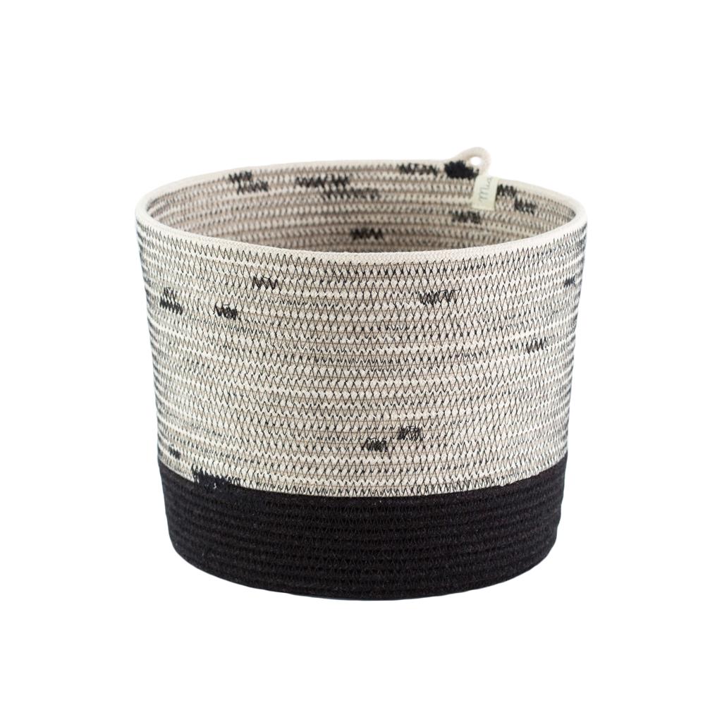 Cylinder Basket - liquorice