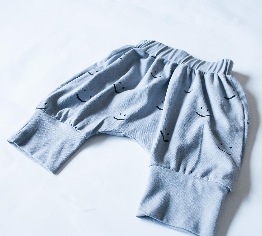 Harem 3/4 Pants