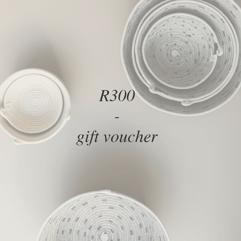 Spoil your loved ones with a Mia Mélange gift voucher.  After you complete yourpurchase, we will email your voucher to you or yourfriend. If you would like us to email the voucher directly to the recipient, please indicate theirname and email address in the comment box when placing the order.  Please select 'collection' as your delivery option when placing your order.
