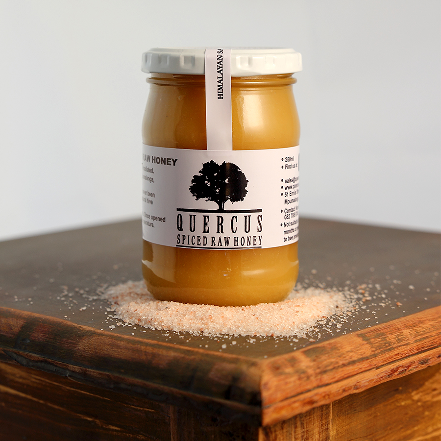Himalayan Salt & Raw Creamed Honey | 250ml in glass