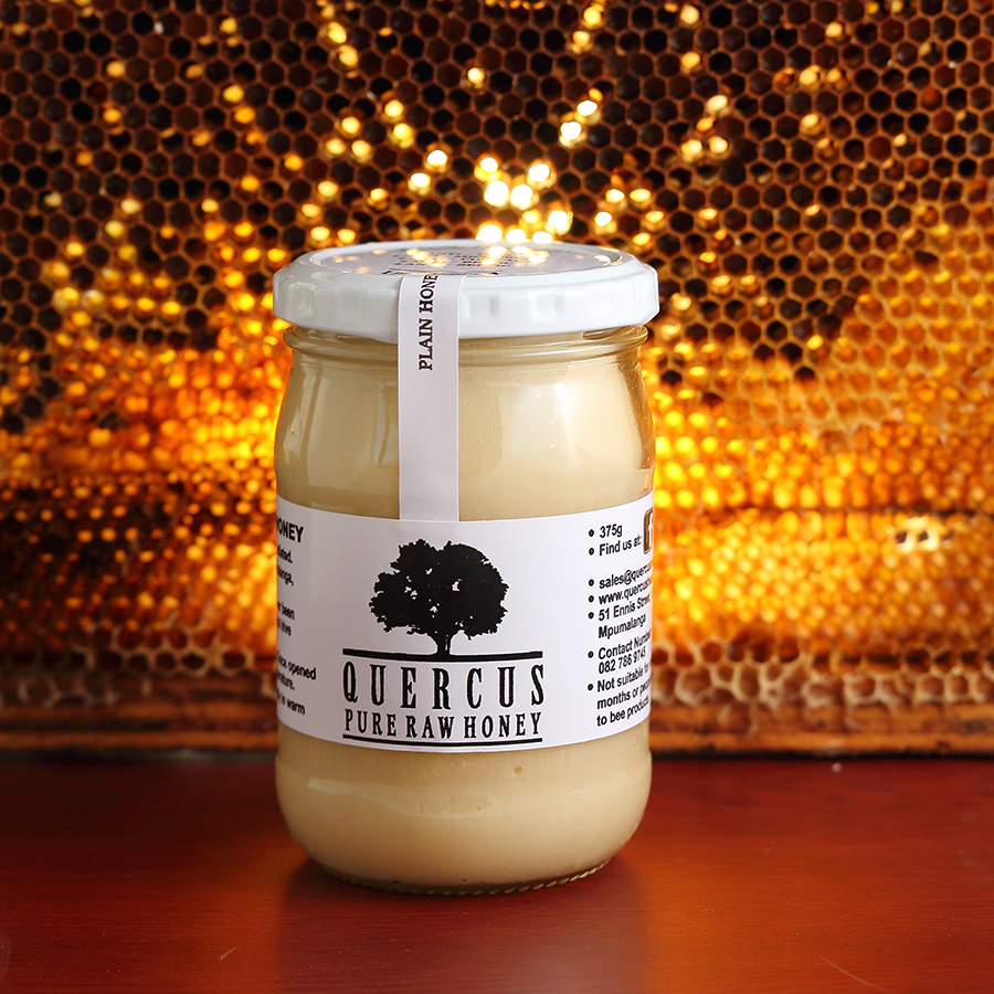 Raw Unfiltered Honey | 375g in glass
