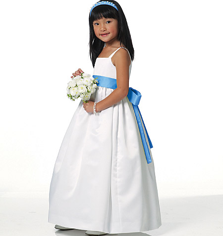 Calista Flower Girl Dress