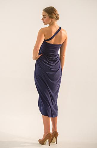 Jacqueline navy multi-way dress