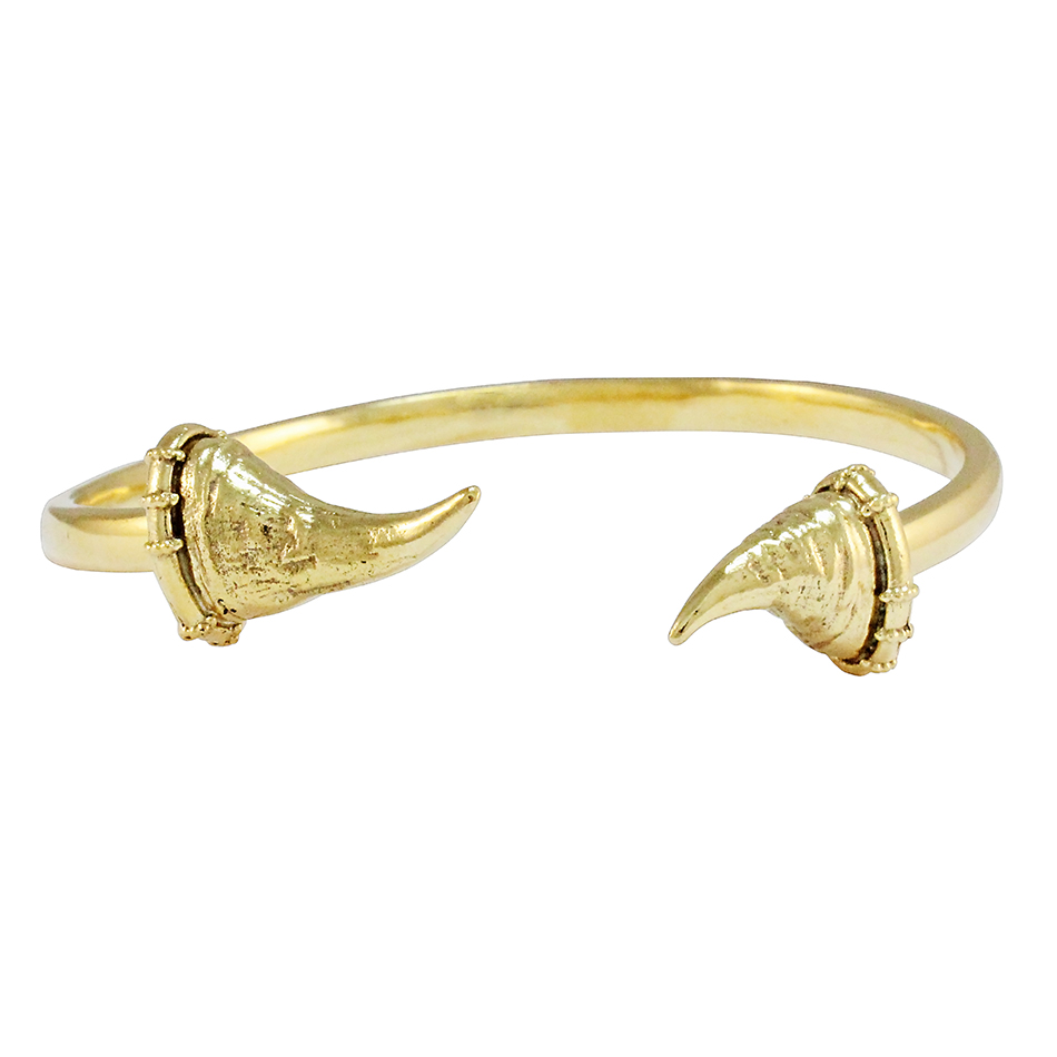 9ct Yellow Gold Matimba Bangle