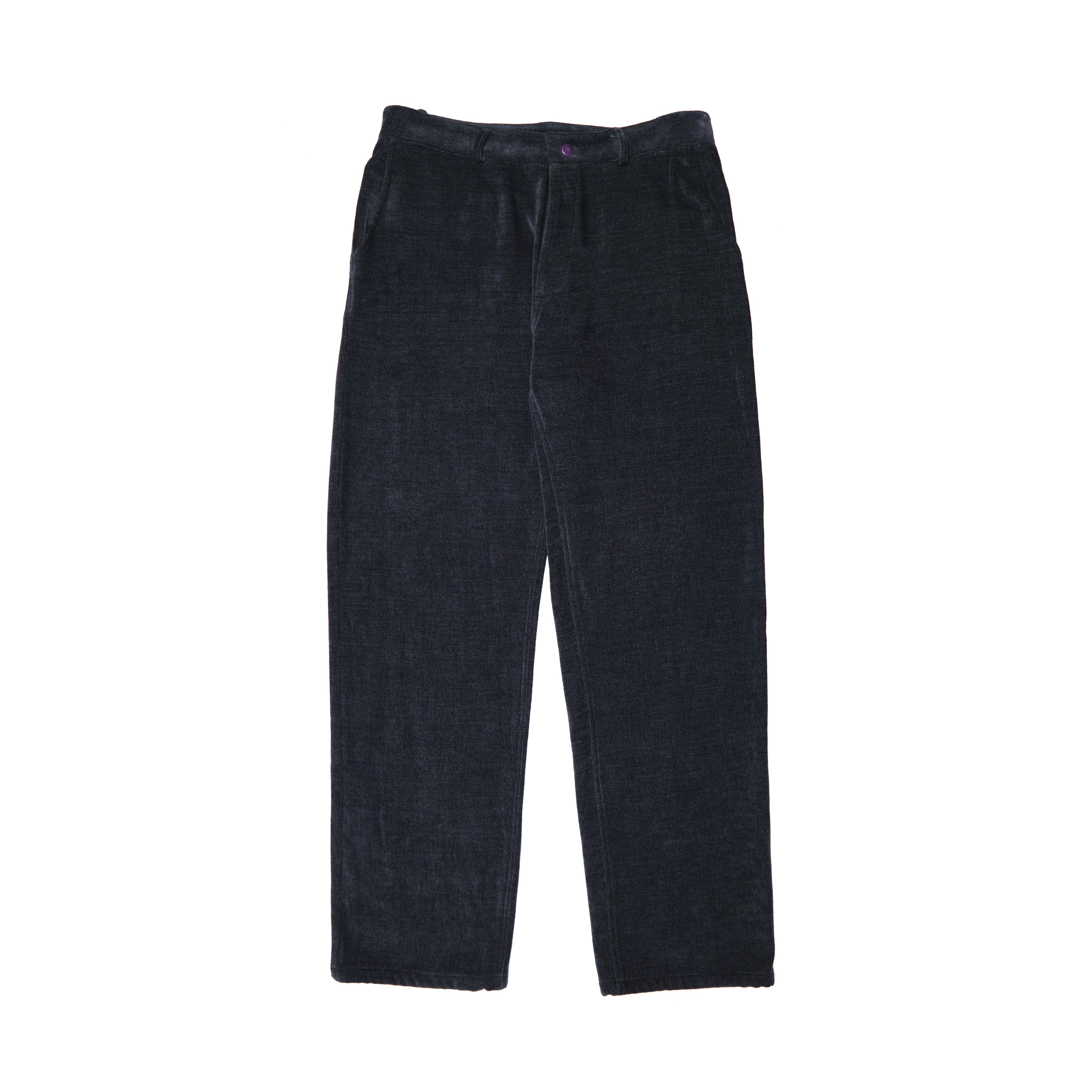 Work Wear Trousers - Plain Charcoal Weave