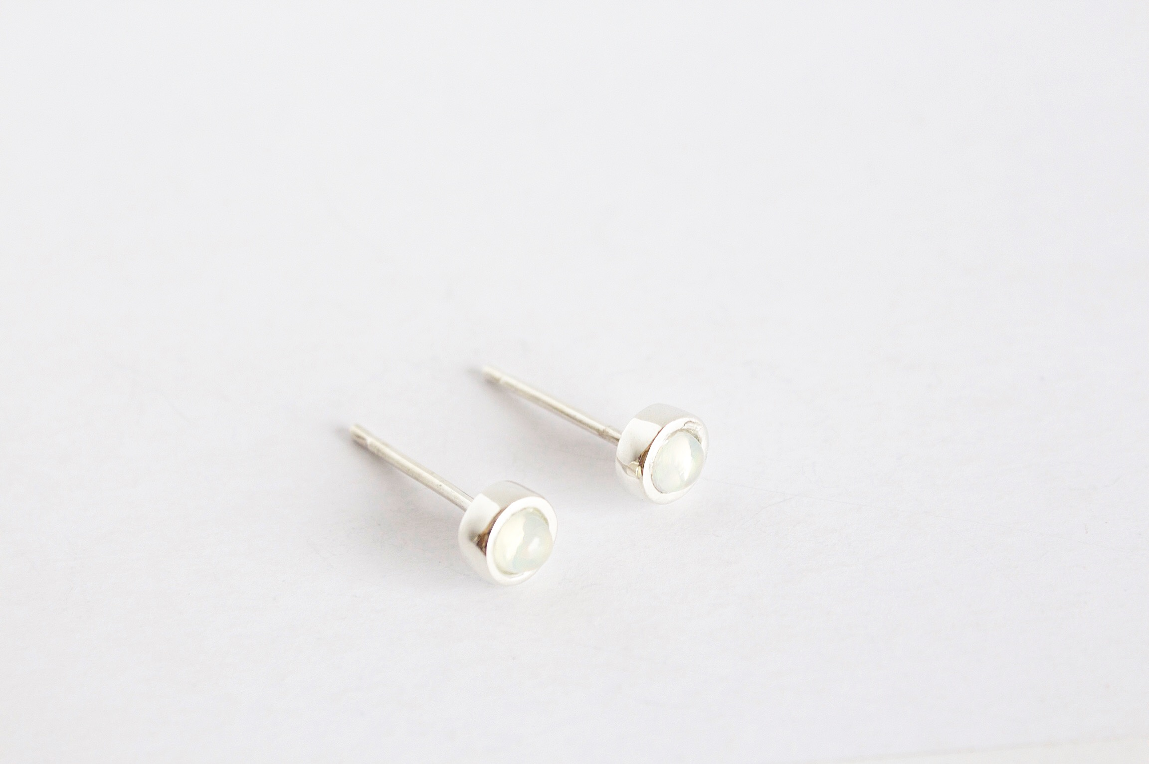 A luxe stud earring set with Opal