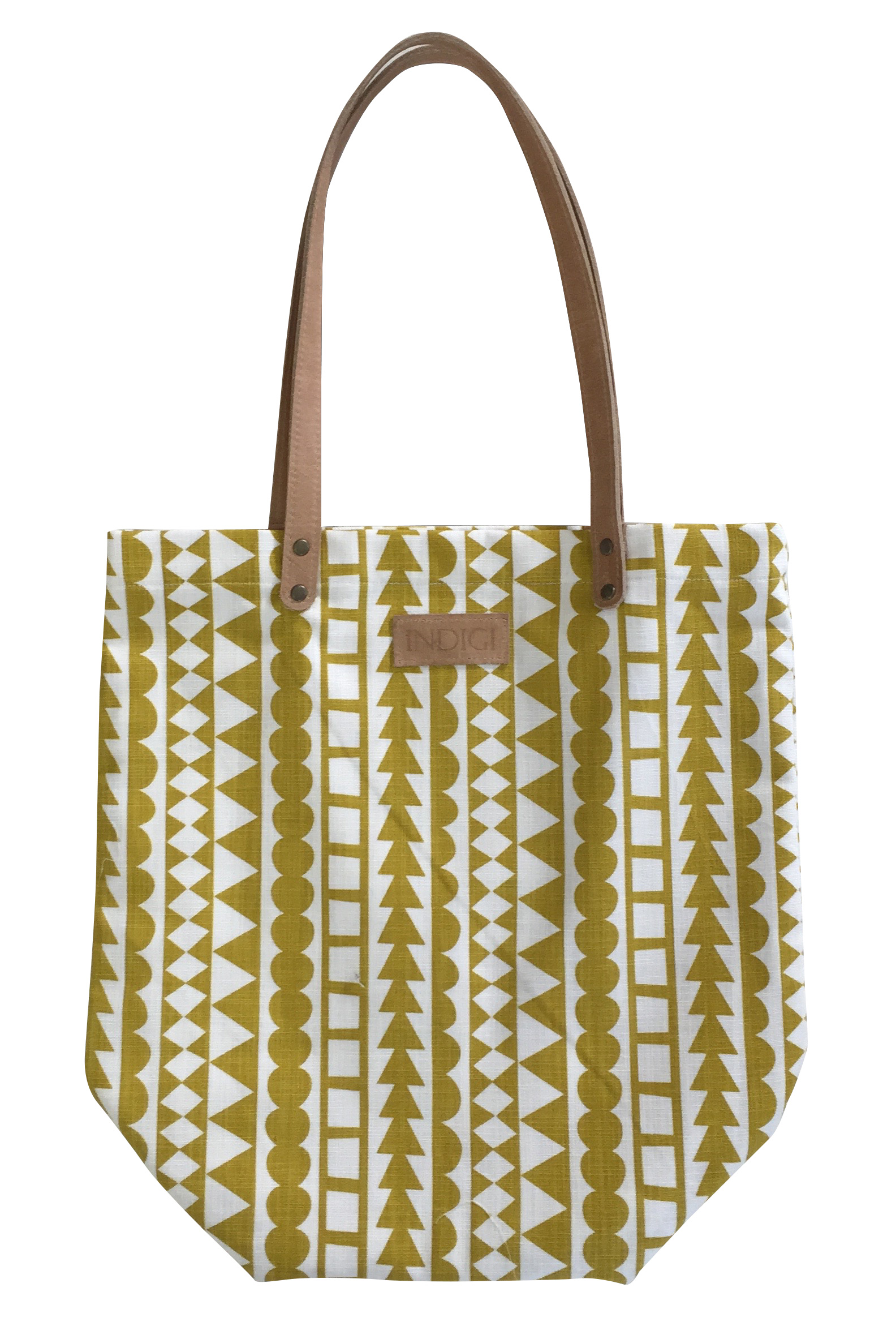 Tote Bag Tribal Stripe (Harvest)