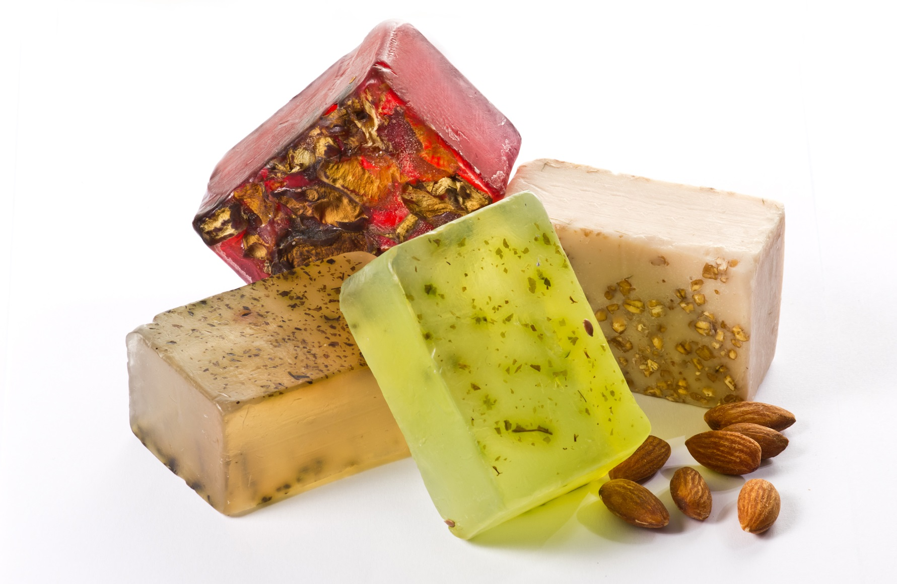 Pack of 4 Herbal Cleansing  Body Bars