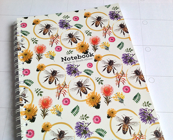 A5 Notebook Diligent Honey Bee