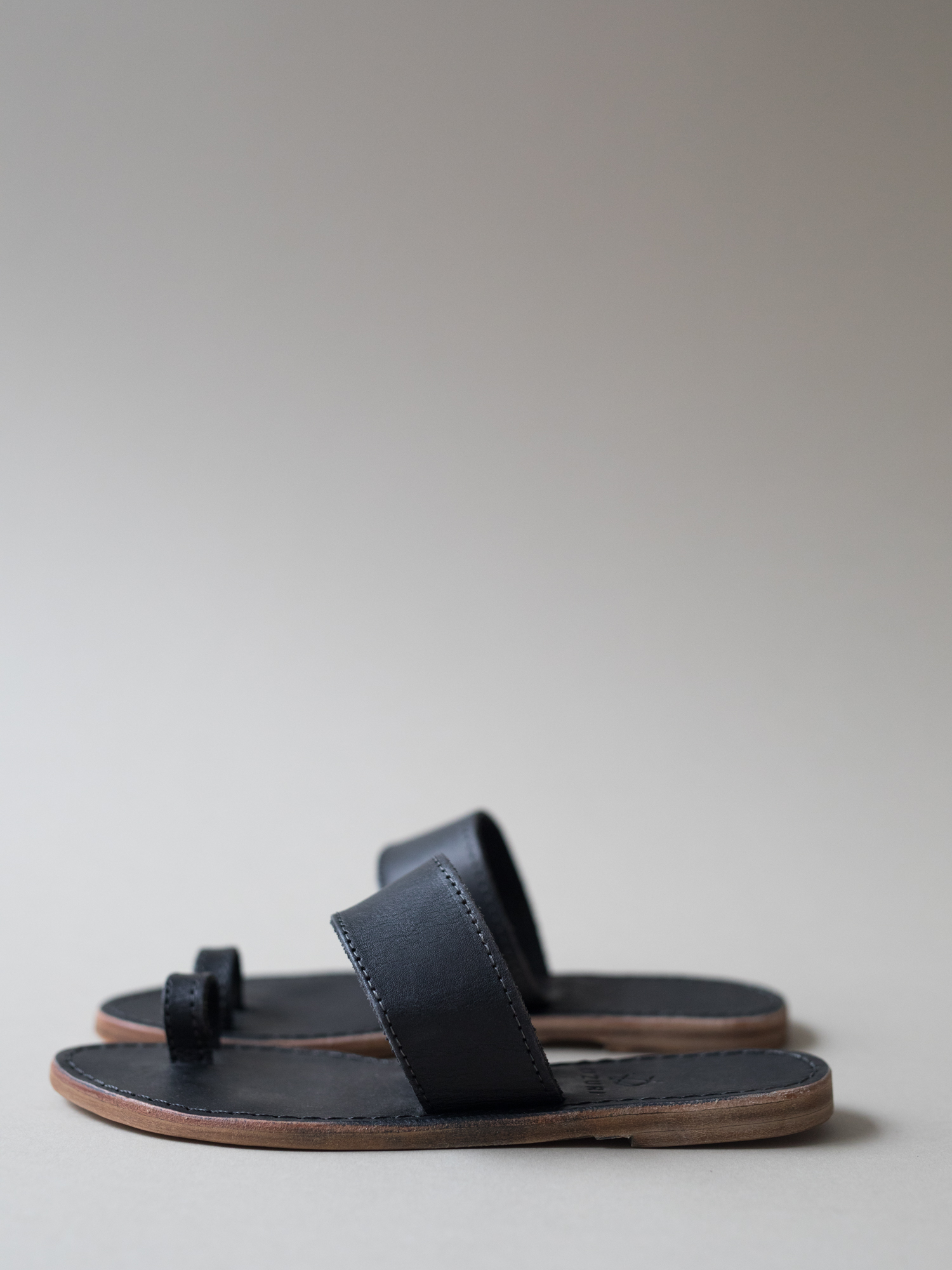 100% leather sandal, locally sourced + handcrafted