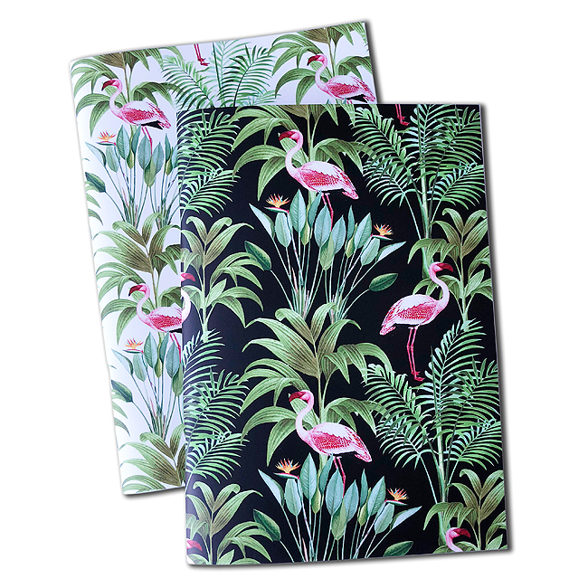 Flamingle notebooks - set of 2