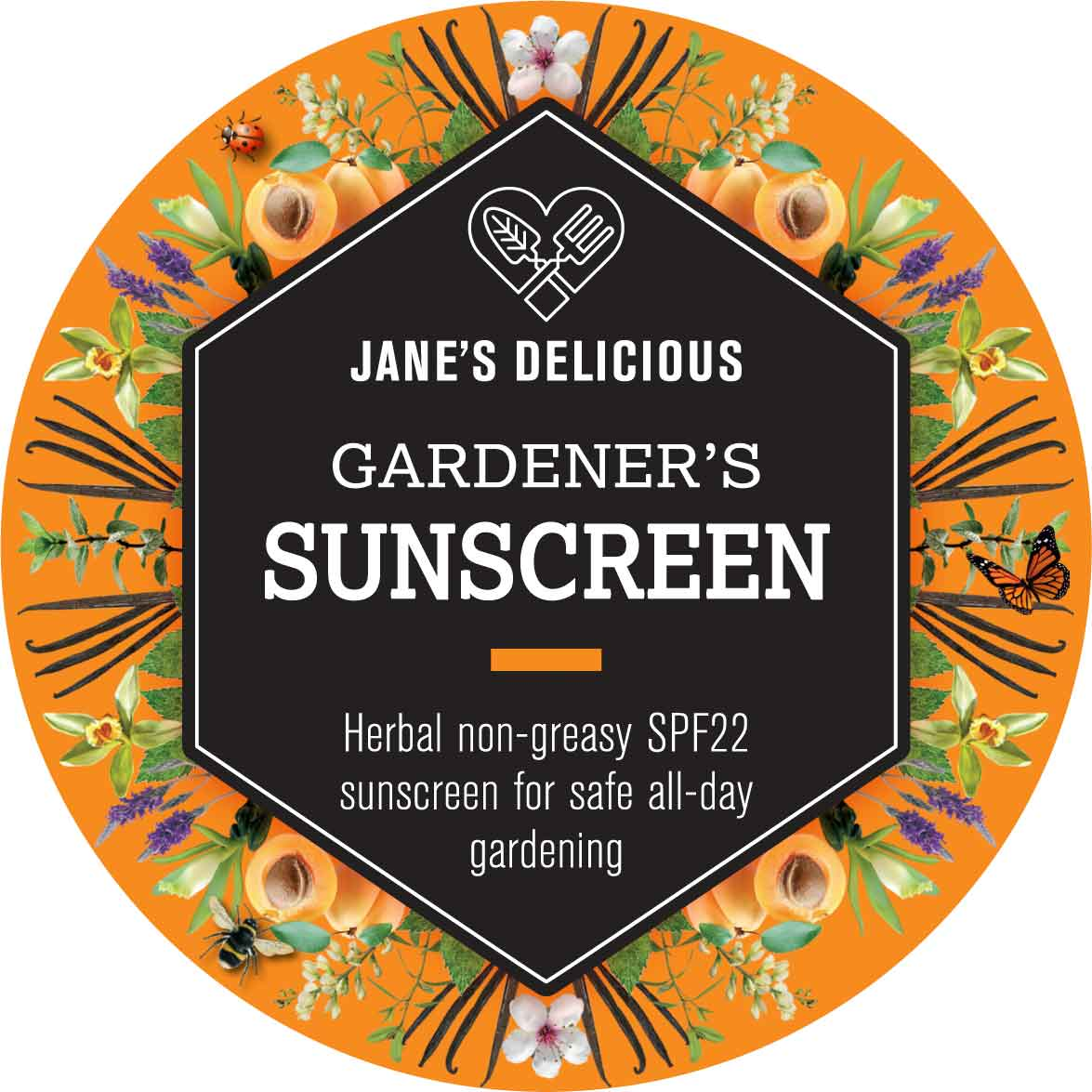 A non-greasy SPF22 sunscreen made with plant oils and natural zinc oxide.