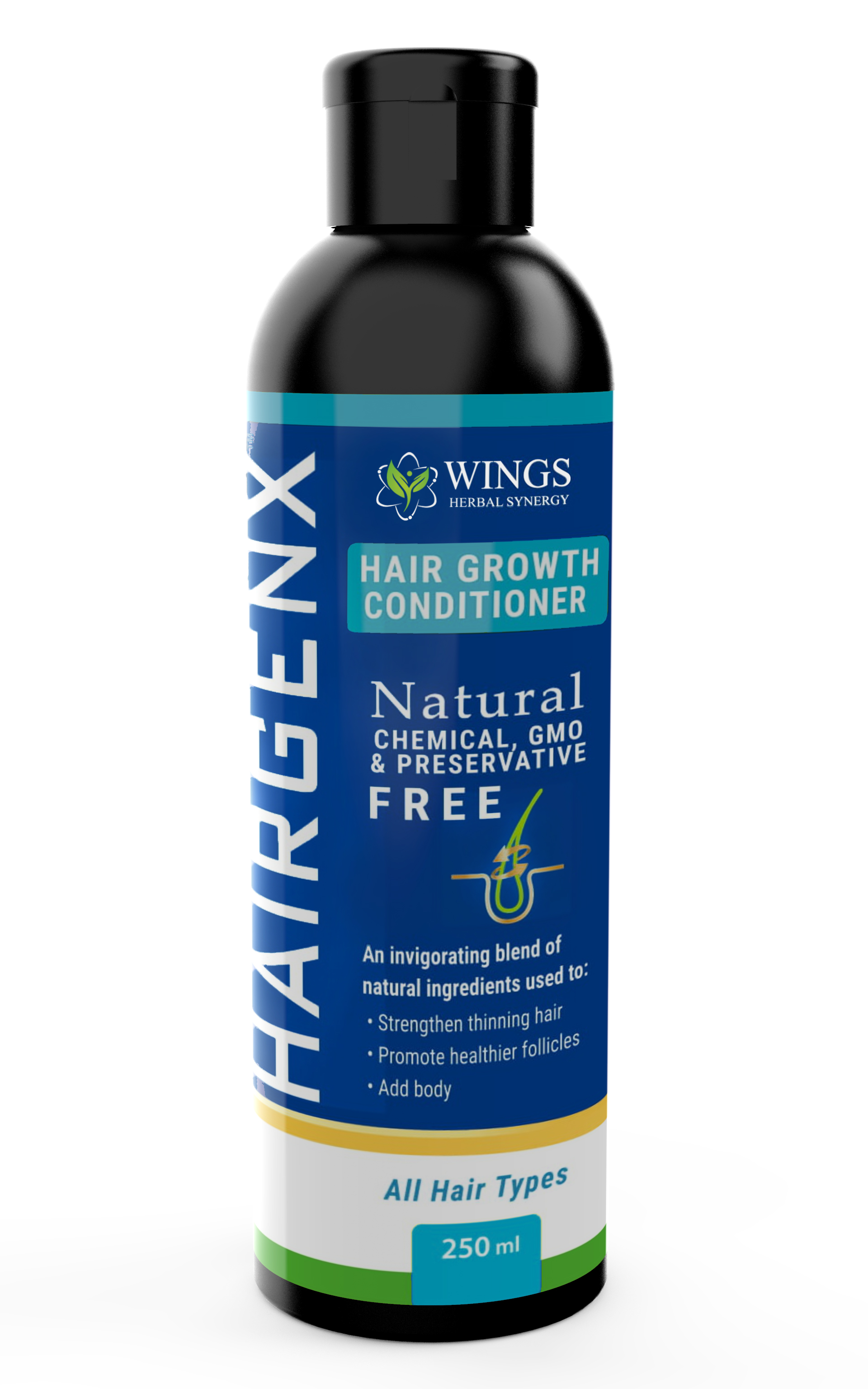 Hairgenx Conditioner for Thinning Hair 250ml