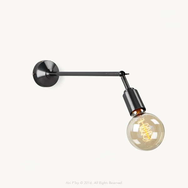 Much like our Signature Wall Sconce, the Winston Wall Sconce is designed to be mounted to a wall. However extends out further with a stem length of up to 600mm. Ideal for bringing focus to a wall mounted artwork.