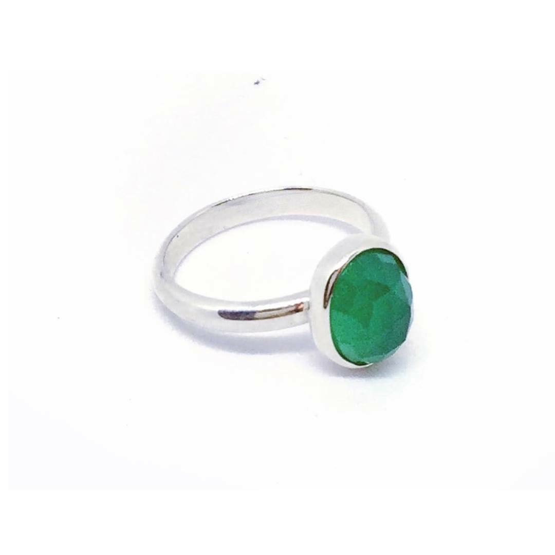 Sadie Green Onxy Ring