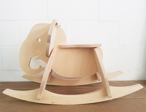 A beautiful and unique designed rocking elephant - perfect for ages 2 - 5years.
